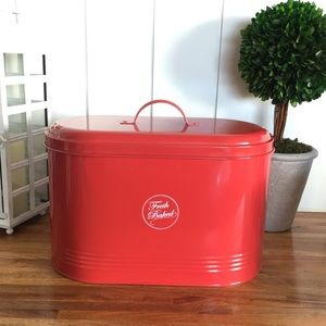 Other - Bread Box Tin with Lid (Never used)